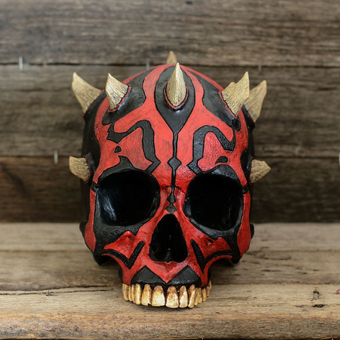 0a44d93dfff This Custom Human Skull Art Is The Perfect Mix Between Creepy And ...