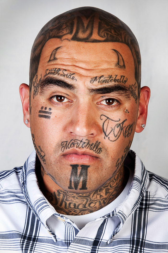 ex gang members with their tattoos removed