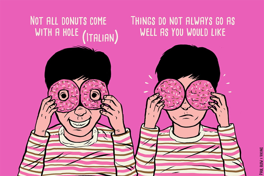 Translations Into Italian: 11 Idioms That Make No Sense When Translated Into English