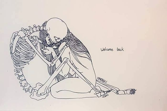 depression-death-skeleton-drawings-haenuli-shin-8