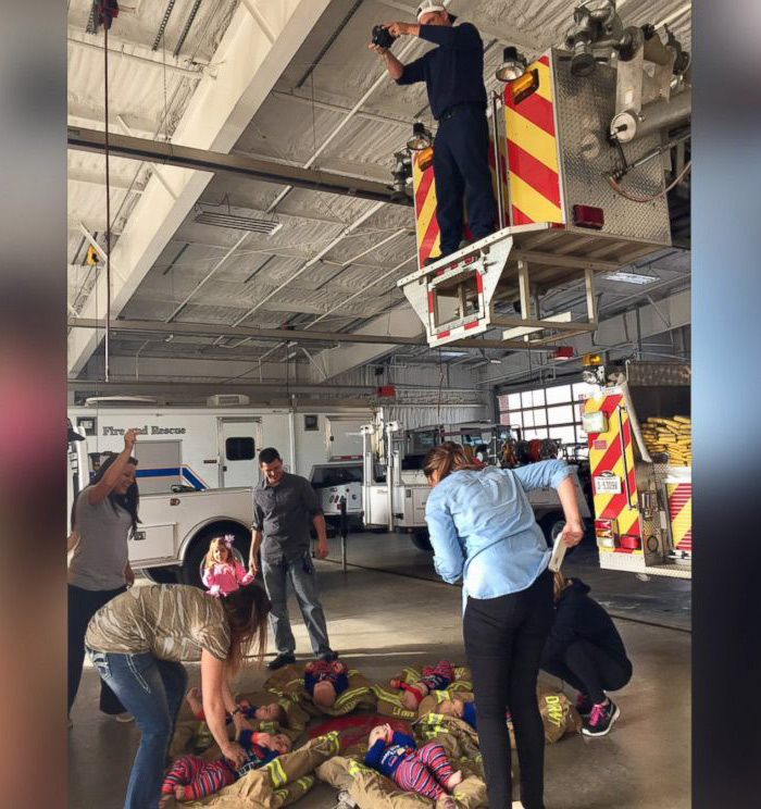 6 Babies Of Firefighters Posed For The Fire Station\'s Cutest ...