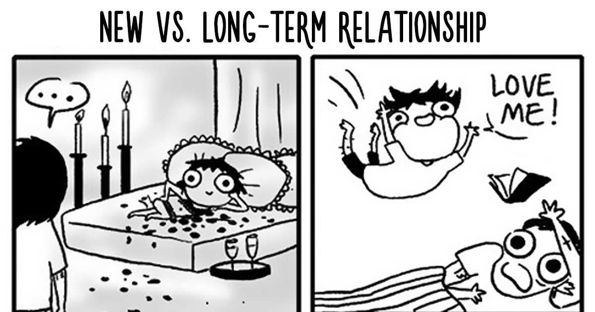 Funny Relationship Cartoon : 20 Funny Comics Sum Up All Long-Term Relationships