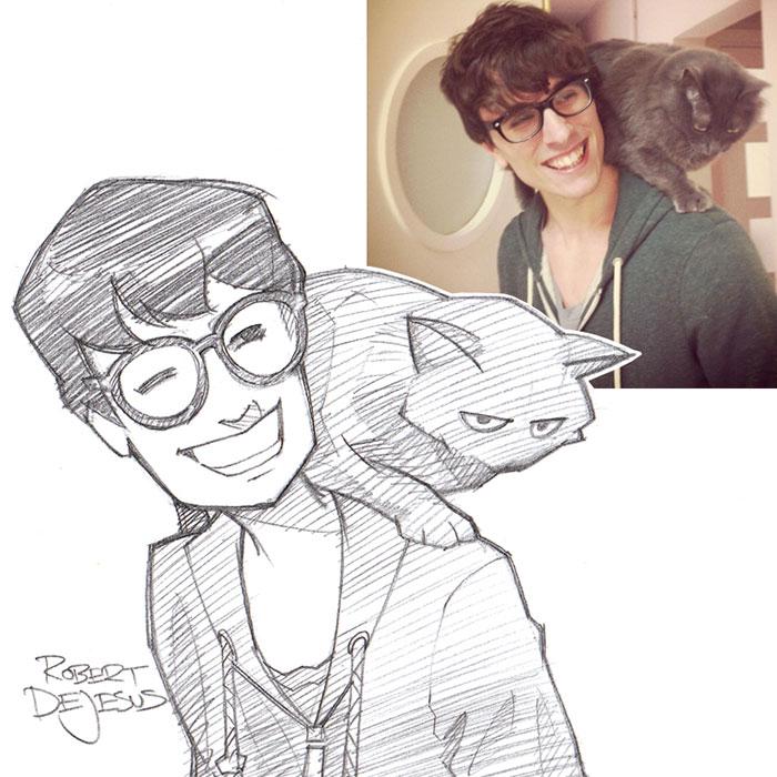 people-pets-turned-cartoons-anime-banzchan-robert-dejesus-5