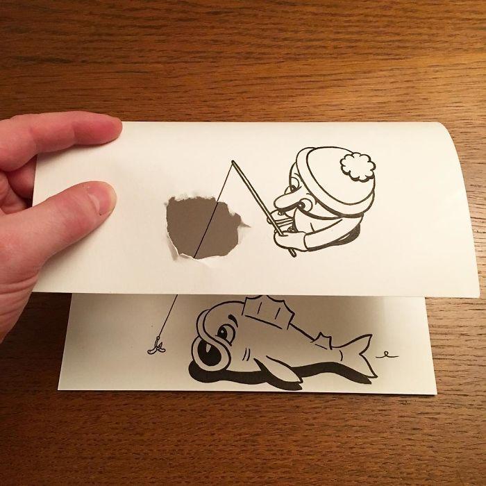3d-paper-art-illustrations-huskmitnavn-6