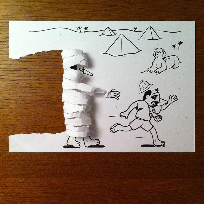 3d-paper-art-illustrations-huskmitnavn-9
