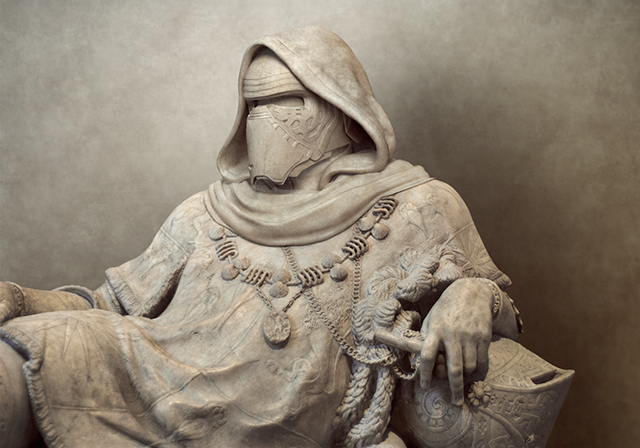 Artist Turns Ancient Greek Statues Into Star Wars Characters