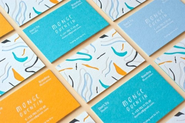 6 minimalistic business card designs for your inspiration dont try studio card reheart Image collections