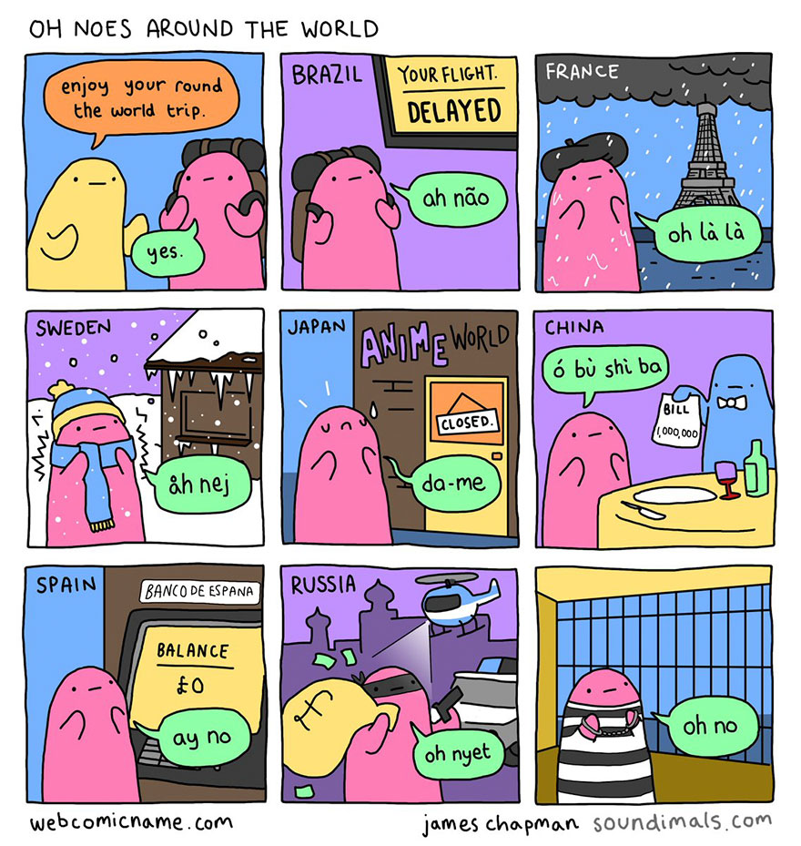 """Funny Adult Comics 10 hilariously sad """"oh no"""" comics that perfectly sum up your"""