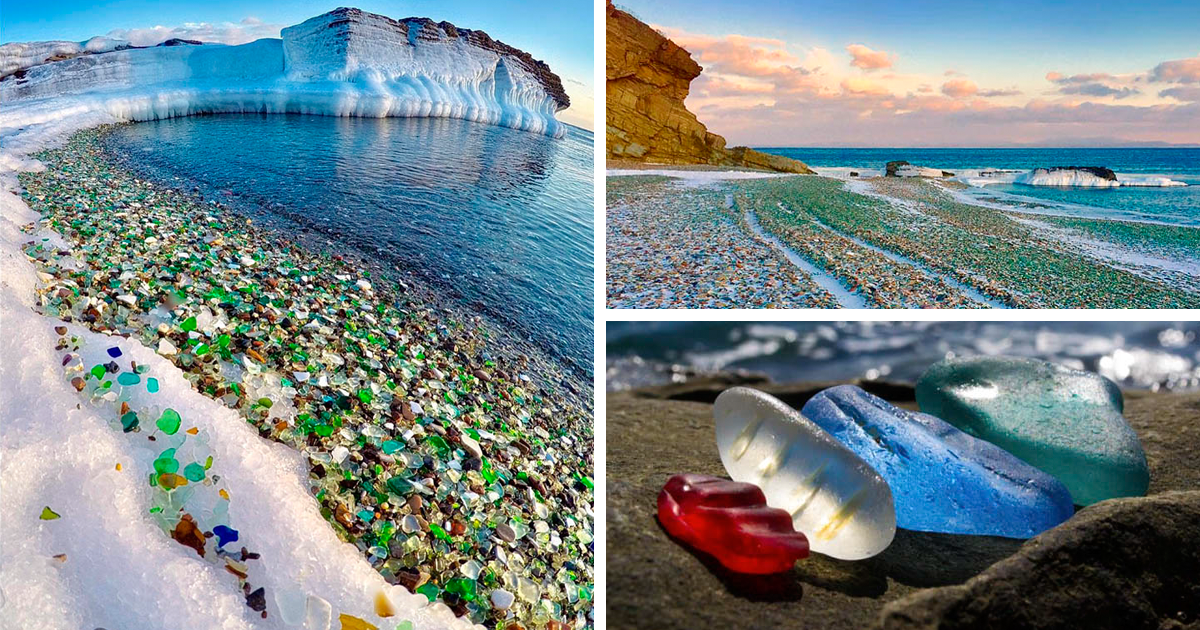 Russians Dumped Vodka Bottles Into Sea And Nature Turned