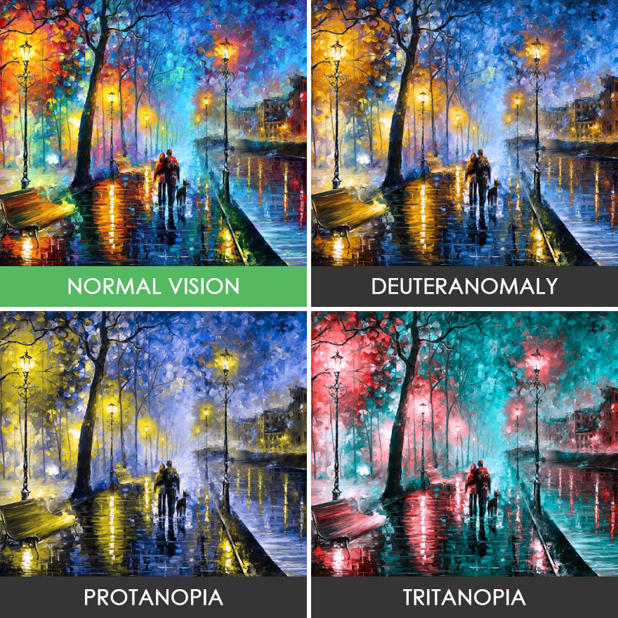 You'll Be Surprised How People With Color Blindness See The World (10 Pics)