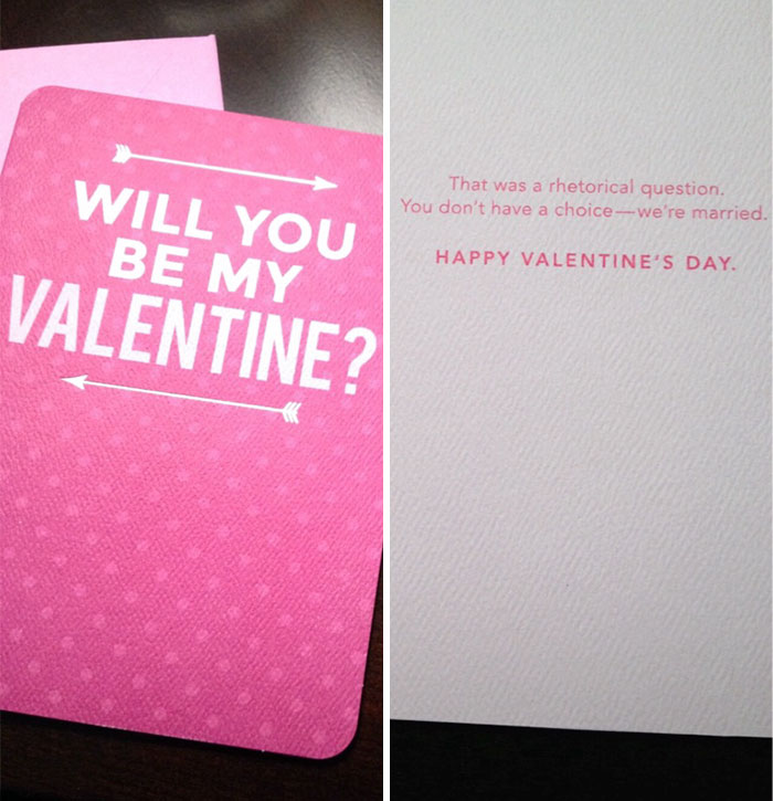 15 creative valentine s day cards for non traditional couples for Creative valentine day cards