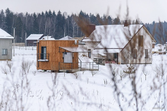 This Tiny House In Belarus May Look Small But It Fits A Family Of