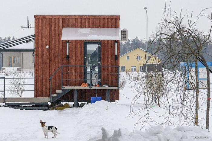 they moved into their do it yourself micro house built for 4600 - Micro House