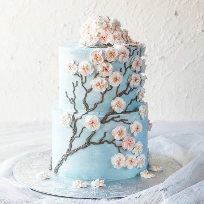 10 Blooming Flower Cakes Are The Sweetest Way To