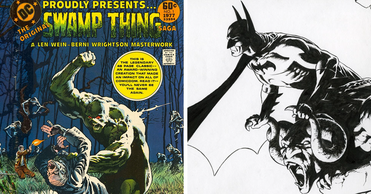 legendary comic book artist bernie wrightson passes away