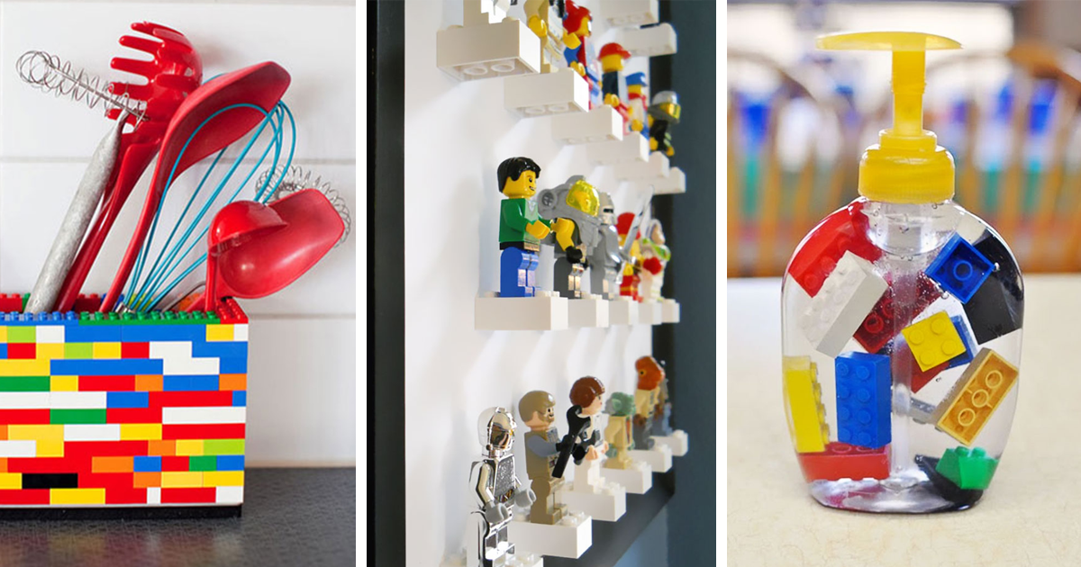 10 genius ways to use lego like you never thought you could