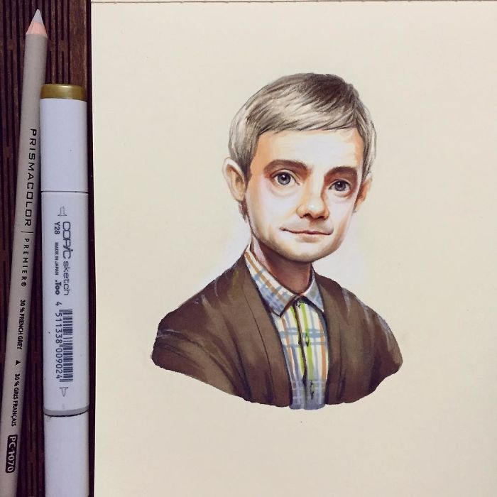 Draw Celebrities Art