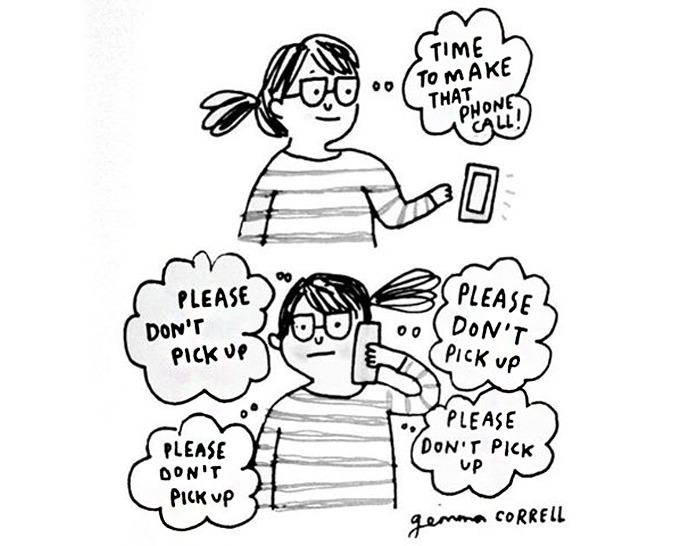 Artist Illustrates Her Life With Anxiety And Depression In Hilarious Comics 20 Pics Demilked