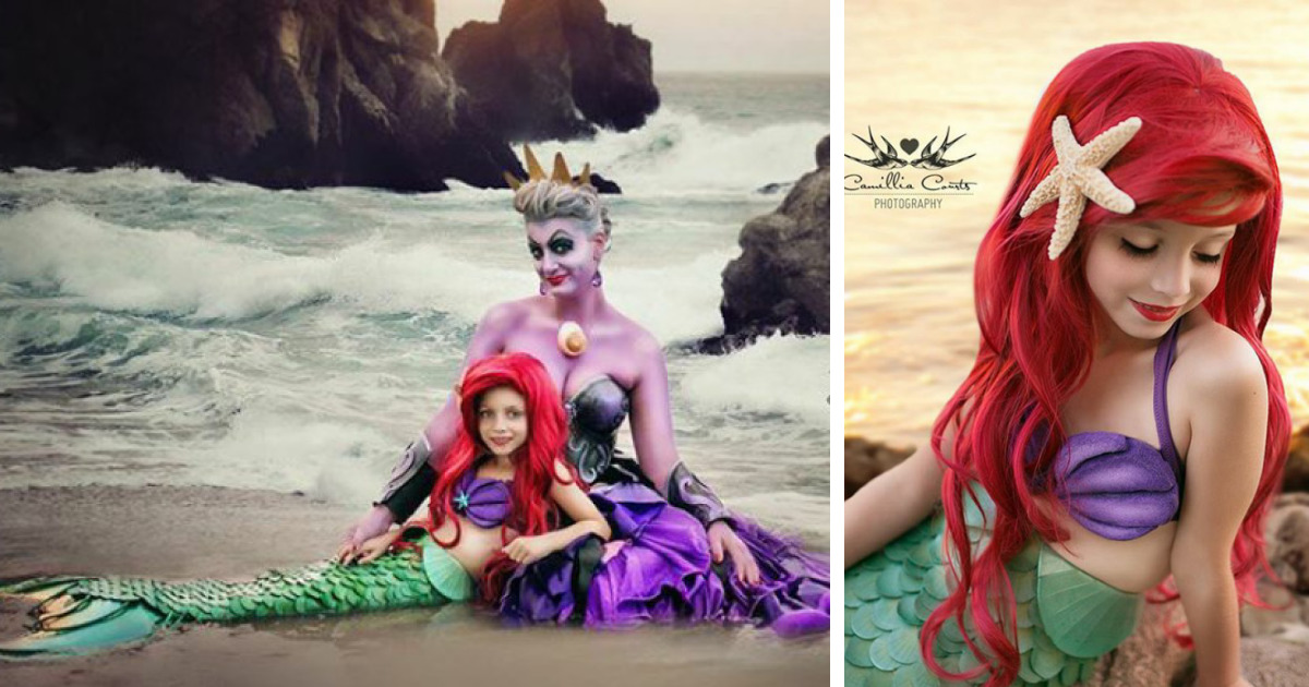 7 Year Old And Her Photographer Mom Become Disney