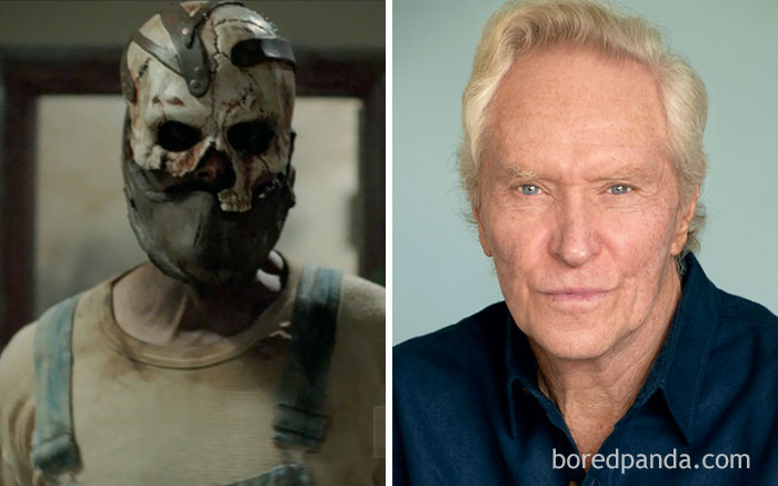 10 horror movie stars with and without makeup part 3