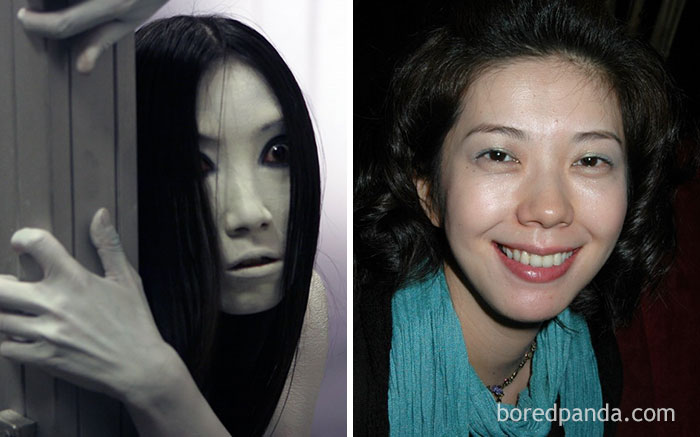 10+ Horror Movie Stars With And Without Makeup