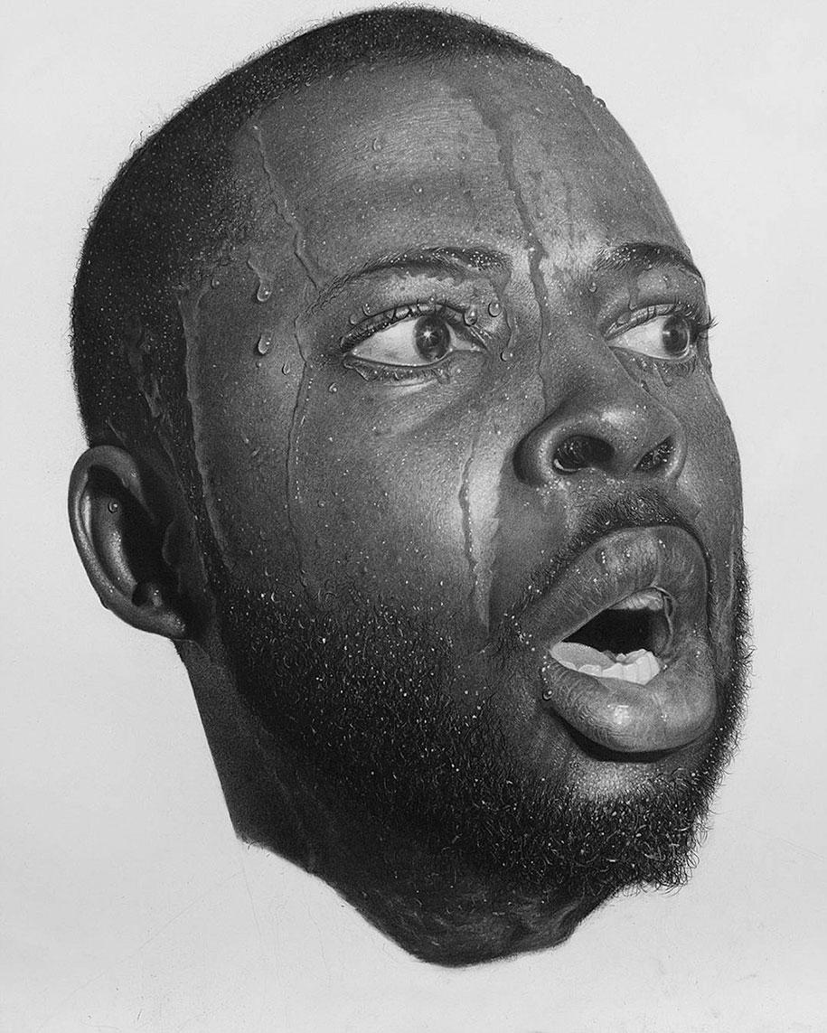Hyperrealistic Pencil Drawings By Nigerian Artist | DeMilked  Hyperrealistic ...