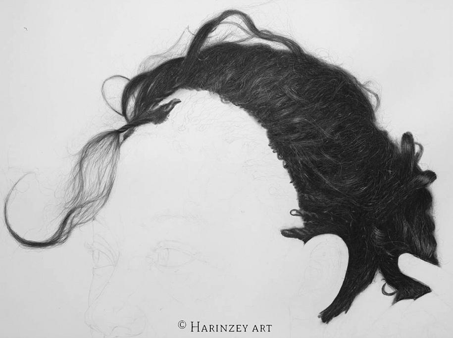 Hyperrealistic Pencil Drawings By Nigerian Artist