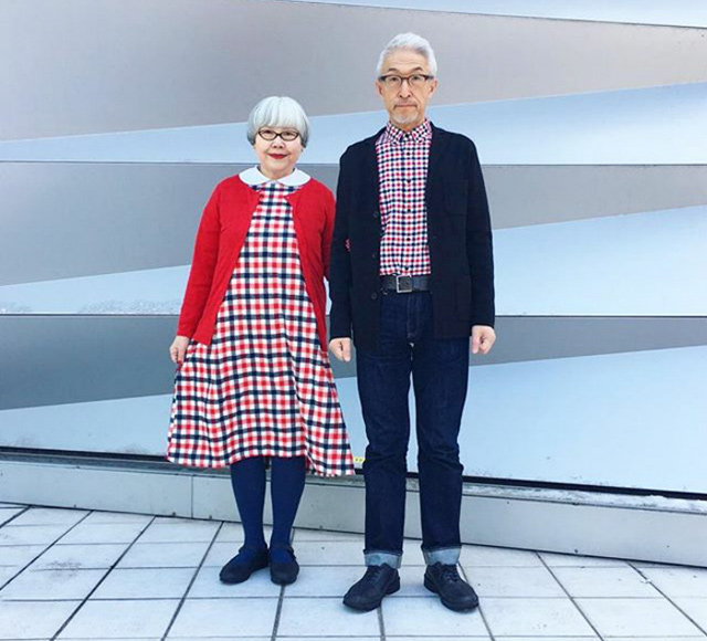 52d469e3a6 37-Years-Married Couple Always Wear Matching Outfits | DeMilked