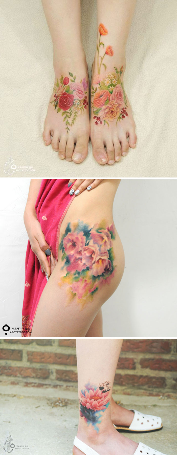 10 Floral Tattoo Artists You Could Trust Your Skin To