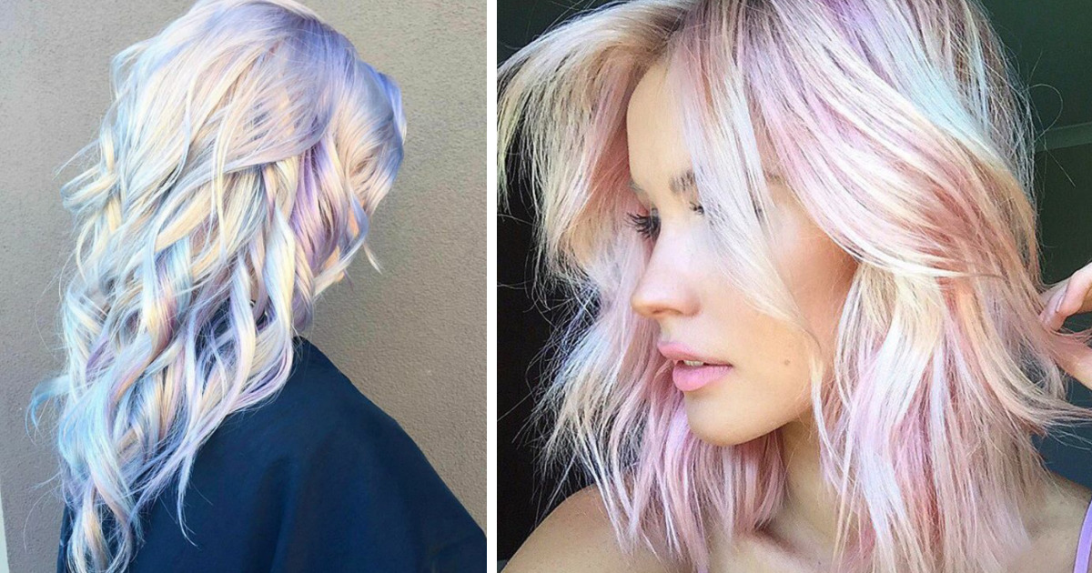 Holographic Hair Is The Hot New Trend Of 2017