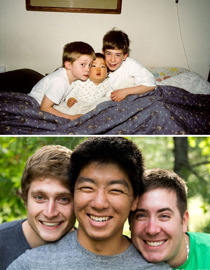 54 Me And My Brothers All Grown Up 18 Years Apart