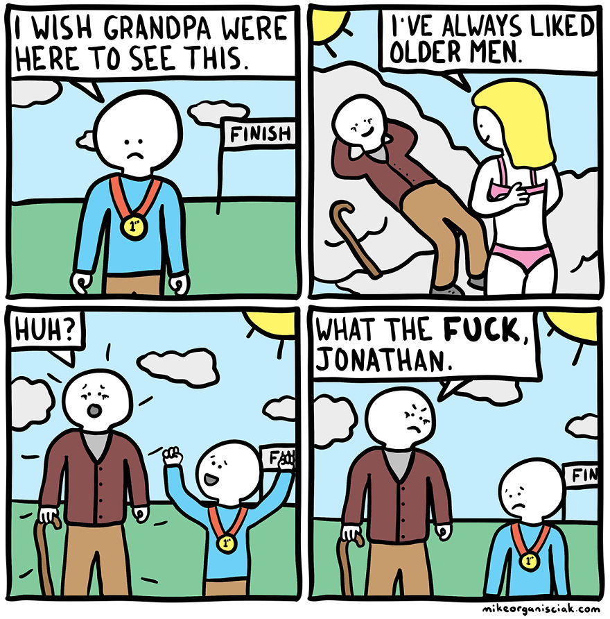 Dark Humor Comics With The Funniest Unexpected Twists At The - 20 hilarious comics that end with an unexpected twist by war and peas