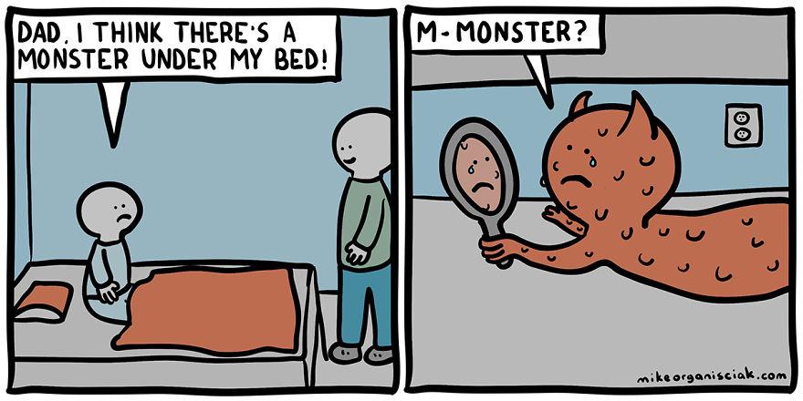 comics endings humor dark twisted hilarious funniest twist funny humour sense unexpected comic memes jokes demilked meme mike strips boredpanda