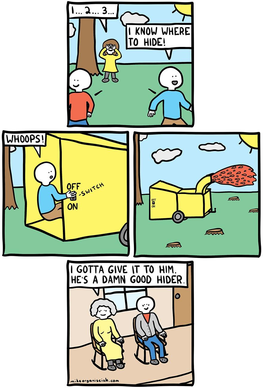 comics humor dark endings sense seek hide twisted unexpected ending meme understand mike funny twist demilked memedroid damn previous last