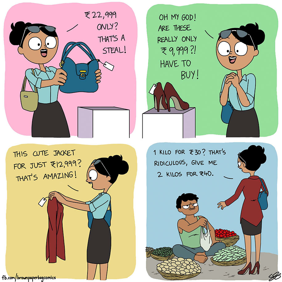 Indian Illustrator Captures Hilarious Moments Of Growing