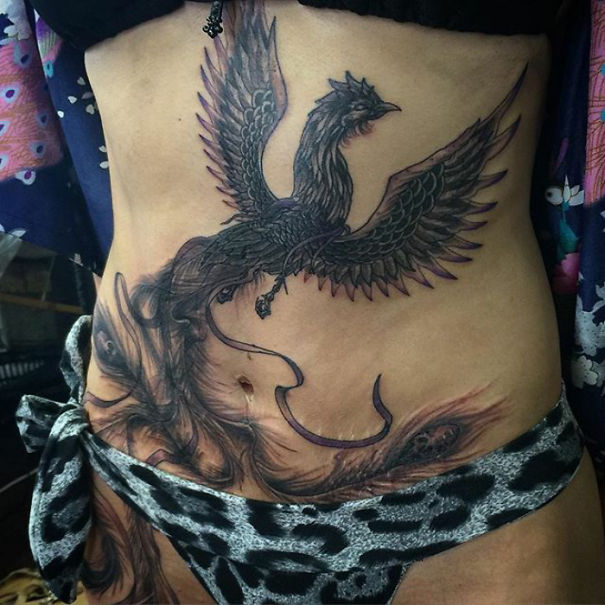 10 amazing scar cover up tattoos part 8 for Scars turned into tattoos