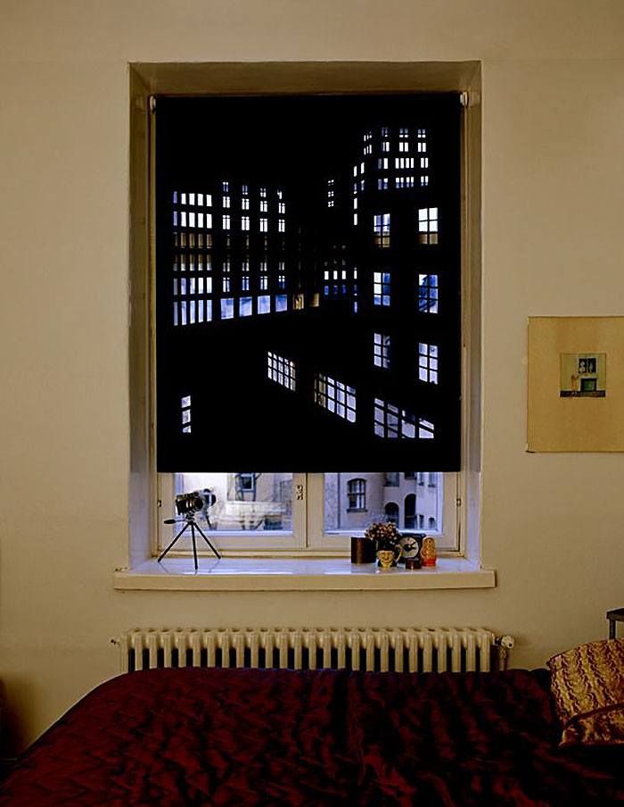 Blackout Curtains Will Turn Your Place Into A Penthouse Above A