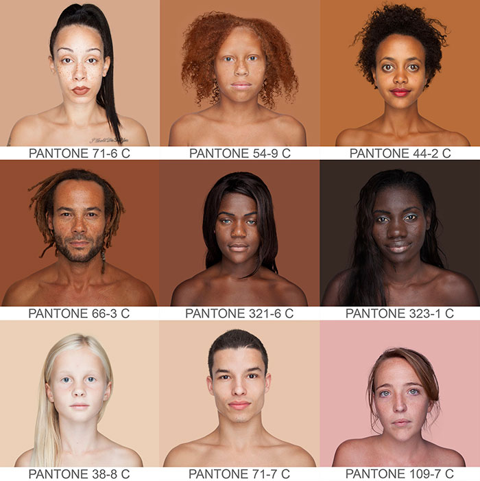 Photographer Travels The World To Capture Every Skin Tone