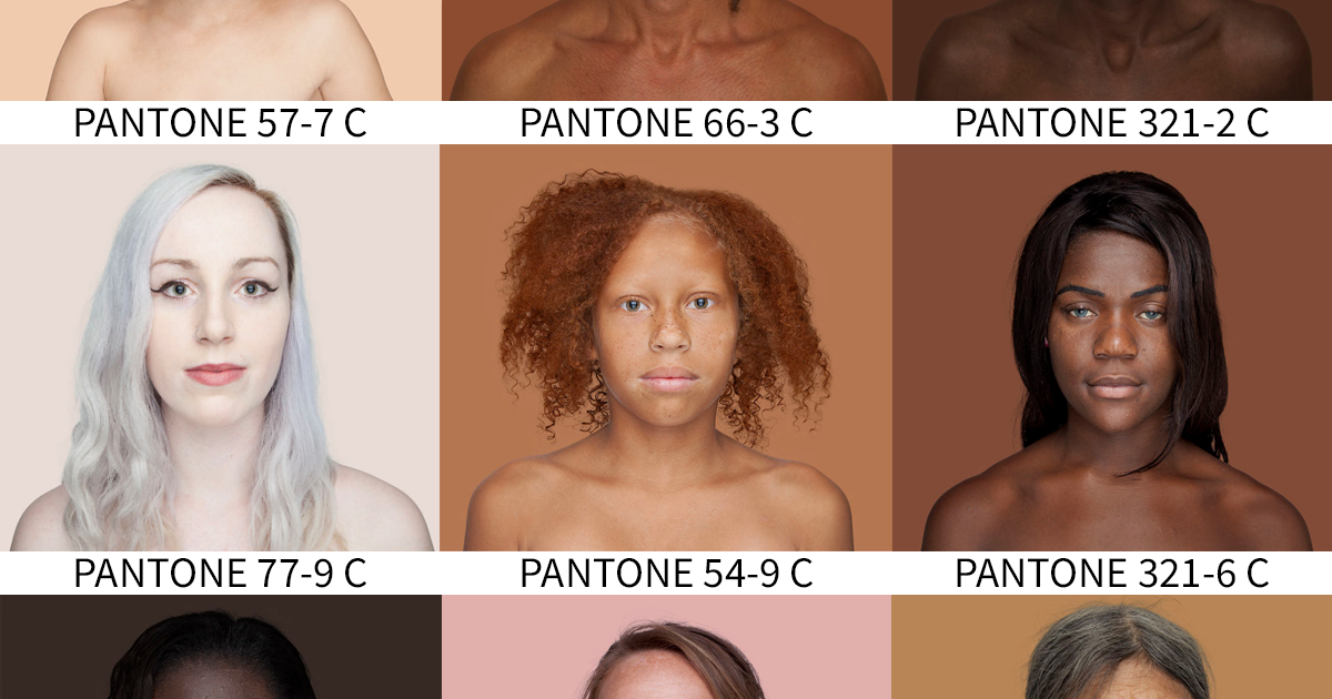 Photographer Travels The World To Capture Every Skin Tone In Pantone