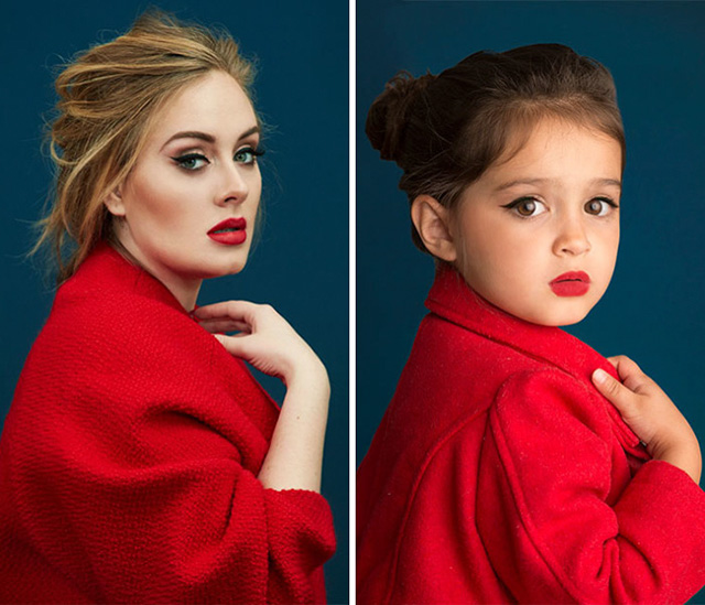 3 Year Old Dresses Up As Famous Strong Women And The Similarities Are Striking
