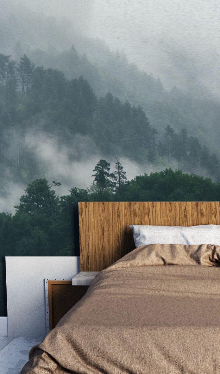 Bedroom Wallpaper Forest
