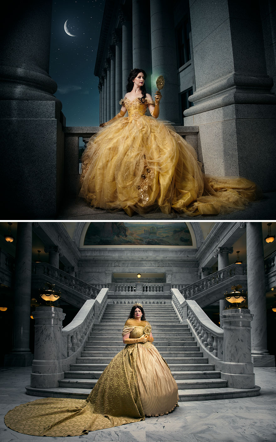 Disney Princesses Reimagined Years Later By Real-Life ...