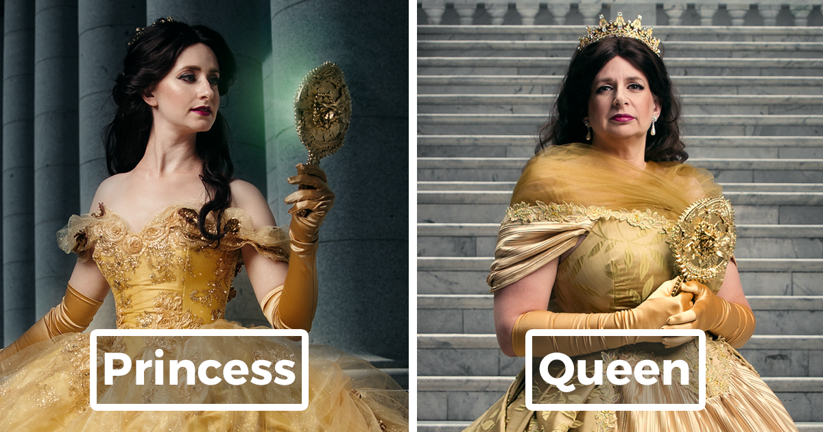 Disney Princesses Reimagined Years Later By Real Life Daughters