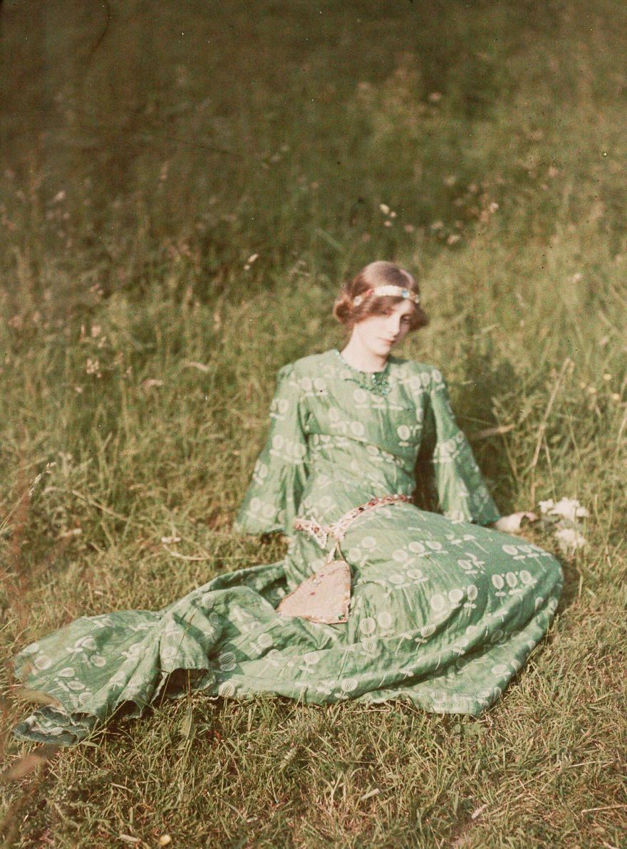 50 Oldest Color Photos Show How The World Looked 100 Years ...