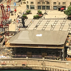 Fantastic Art That MacBook Owners Created For Their Machines - New apple store in chicago will have a giant macbook as its roof