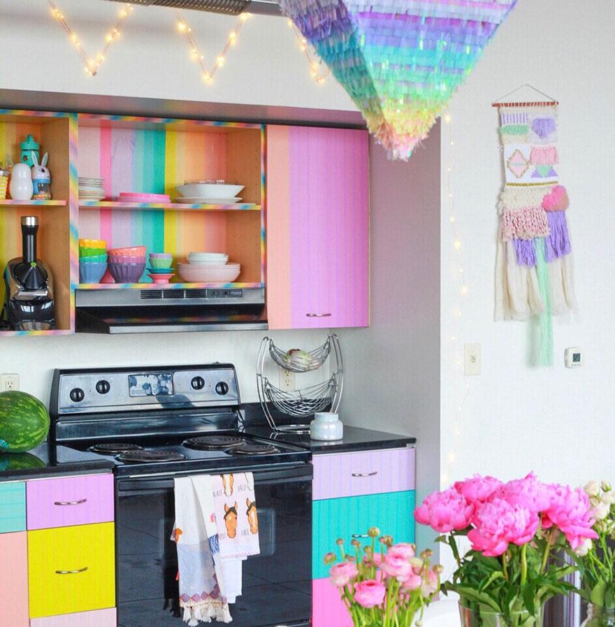 Home Tour: Rainbow Unicorn House