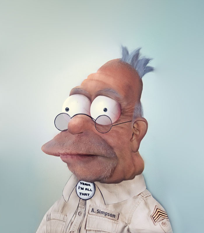 50 Realistic Cartoon Characters You Would Run Away From If You Met