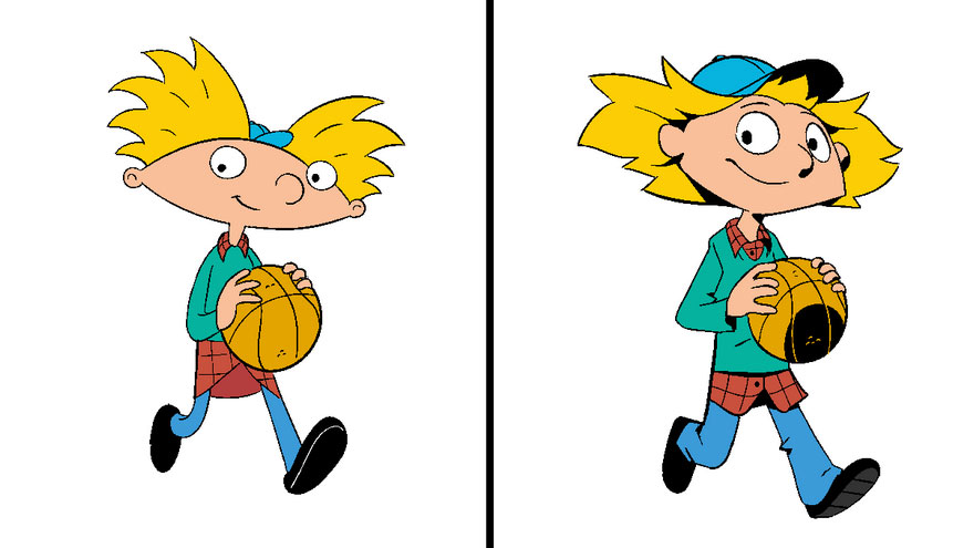 2 Famous Cartoon Characters : Artist draws famous cartoons in their official style then