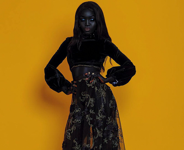 This Queen Of The Dark Was Told To Bleach Her Skin By An Uber Driver Now She S A Fashion Model Demilked