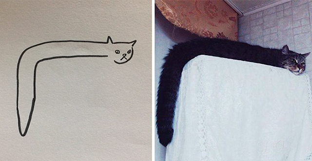 These Poorly Drawn Images Actually Look Like Real Cats And Here's